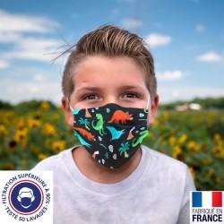 Masque catégorie 1 en tissu - enfant